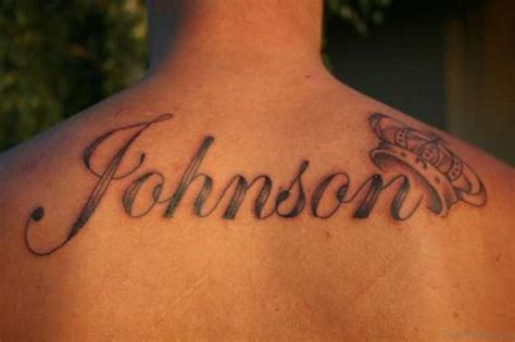 last name on back tattoo designs 84 best name tattoos on back