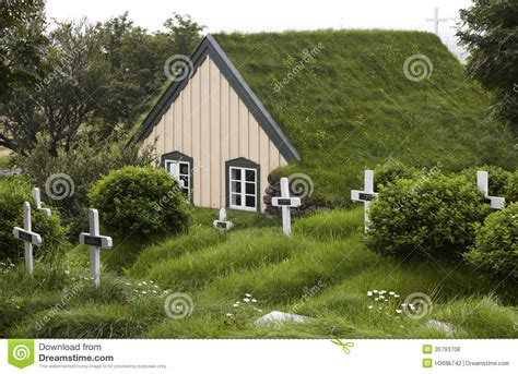 Roof Building Plans by Iceland Southeast Area Hof Cemetery And Church With