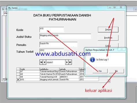 cara membuat barcode di vb 6 0 cara membuat messagebox di visual basic vb 6 0 danish f