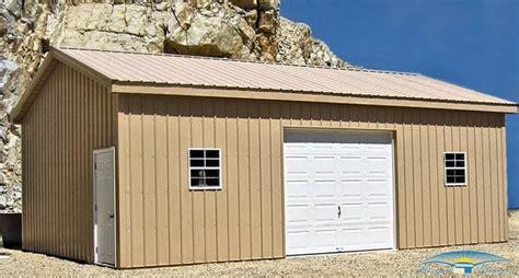 one car garages 1 car prefab garage one car garage horizon structures