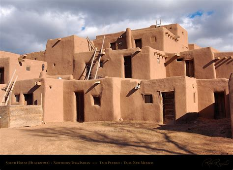 pueblo adobe houses quot taos pueblo quot is a famous land mark new mexico it was