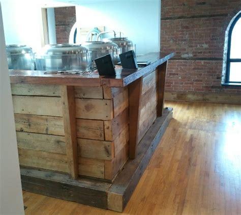 Wood Bar Reclaimed Wood Bar Basement Bar Ideas