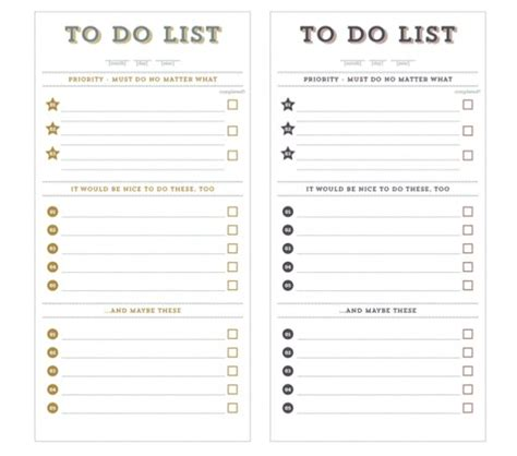 Priority To Do List Printable World Of Exle To Do List With Priority Template