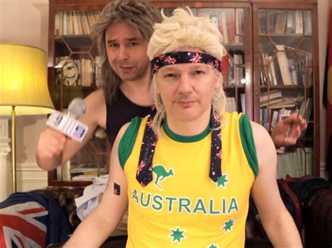 mullet lips youtube here s how a couple of aussies convinced julian assange to