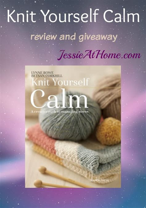 knitting review knit yourself calm review giveaway at home