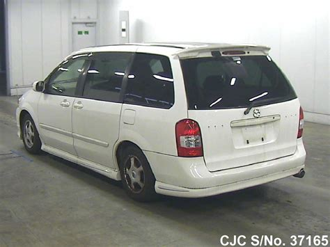 how petrol cars work 2000 mazda mpv electronic toll collection 2000 mazda mpv white for sale stock no 37165 japanese used cars exporter