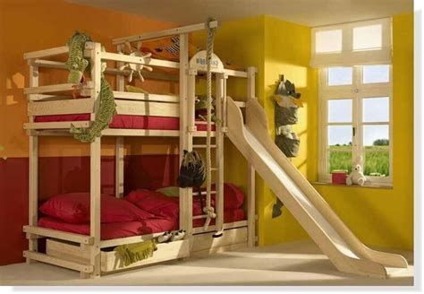 bunk beds boys boys bunk bed with slide quot big boy quot bed idea pinterest