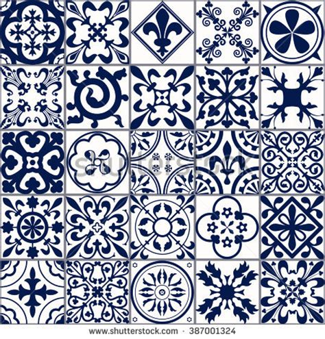 line pattern in spanish moroccan tile stock images royalty free images vectors