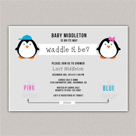 25 best ideas about penguin baby showers on