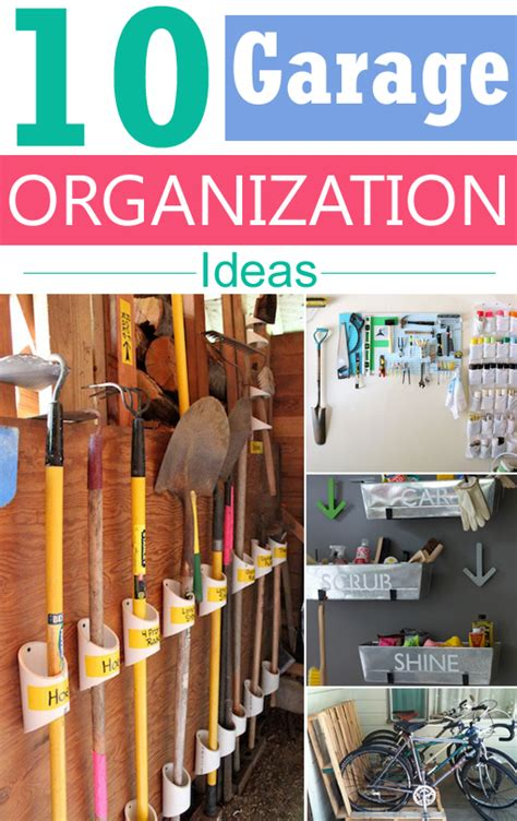 5 and cheap garage organizing ideas garage organization 10 clever diy storage ideas