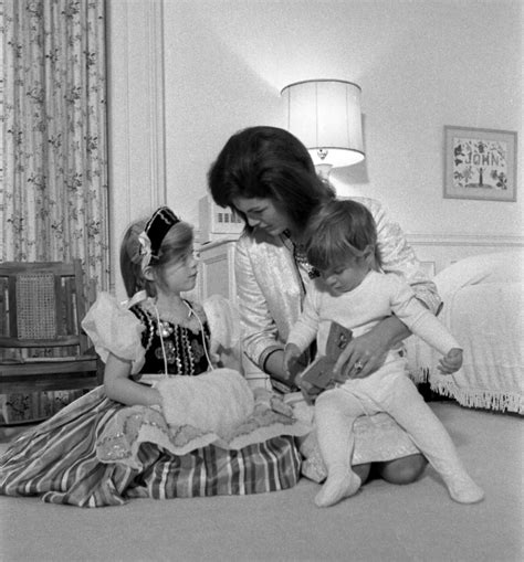 john f kennedy jr children christmasmiracle archivally speaking an inside look at
