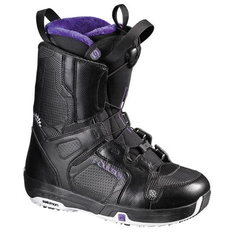 salomon snowboard boots salomon pearl snowboard boots s 2011 evo outlet