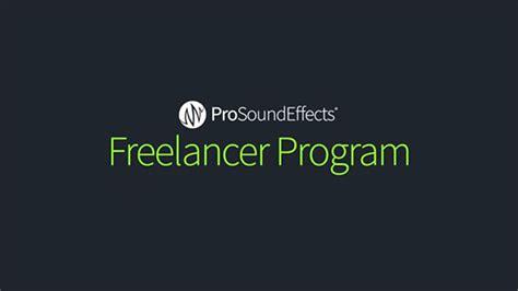 sound effect design freelance pro sound effects updates freelancer program with new
