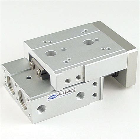 Slide Table by Fabco Air Pneumatic Slide Tables On Rail Bearing System