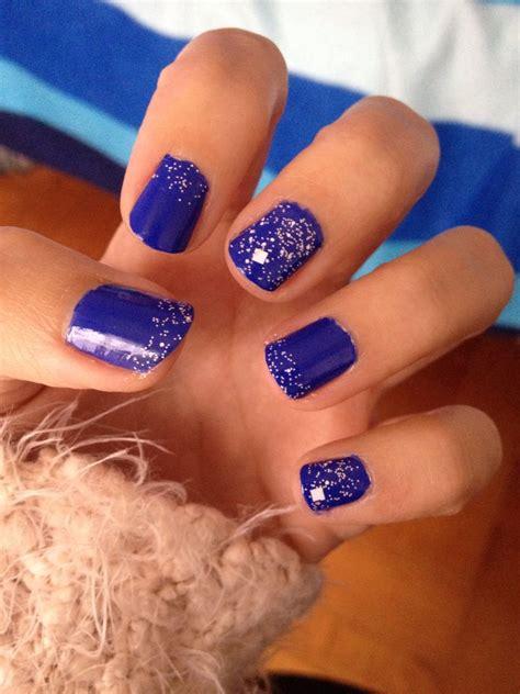 imagenes de uñas acrilicas azul rey u 241 as acrilicas azul rey mate