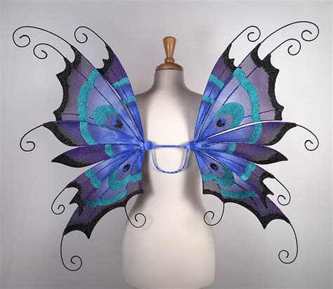 Handmade Butterfly Costume - wings peacock amazing for costume