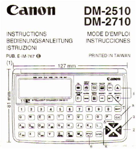 Dm Cp Zipper Tosca canon dm 2710 dm2710 mode d emploi notice d utilisation manuel utilisateur t 233 l 233 charger