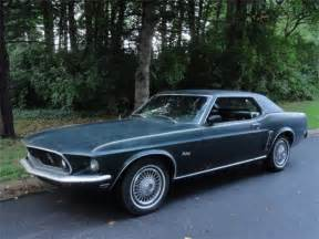 1969 ford mustang grande for sale green 1969 ford mustang classic