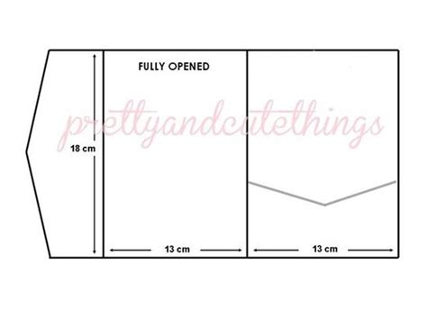 invitation pocket template diy pocketfold wedding invitations template best