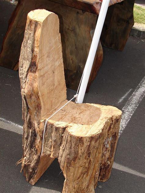stump chair tree stump chair flickr photo