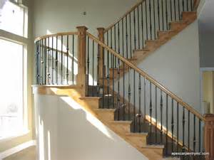 Banisters For Stairs Stair And Stair Railing Contrctor Apex Carpentry