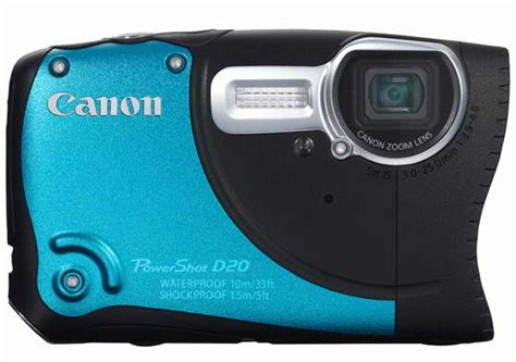 canon rugged techzone canon powershot d20 rugged features price