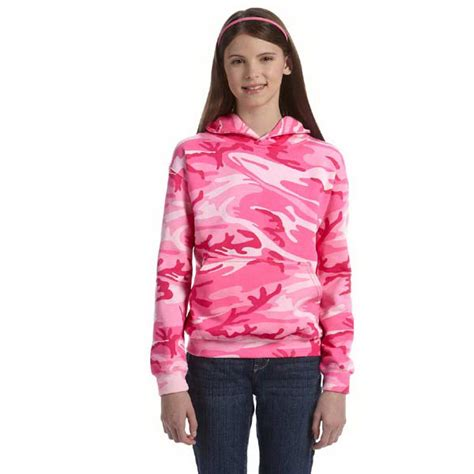 Camouflage Hooded Sweatshirt promotional youth camouflage hooded sweatshirt usimprints