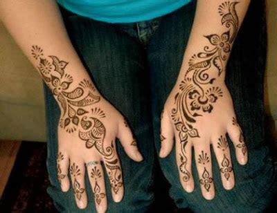 tato menurut islam seni lukis tangan kaki mehndi karya henna multimedia