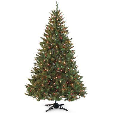 pre lit balsam fir jcpenney holiday pinterest
