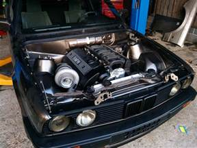bmw e30 with a m52b28 motor engine swap depot