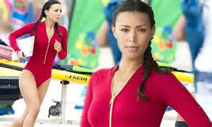 Show Home Interiors Uk Baywatch Ilfenesh Hadera Showcases Swimsuit Figure On