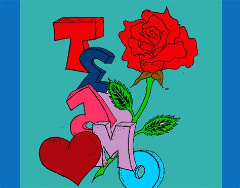 imagenes de flores que digan para ti dibujos de rosas que digan te amo imagui