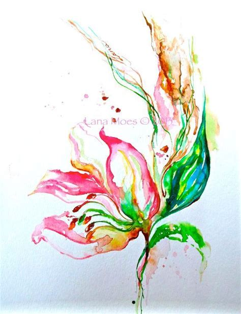 old watercolor tattoo watercolor paintings of lotus flowers pink flowers