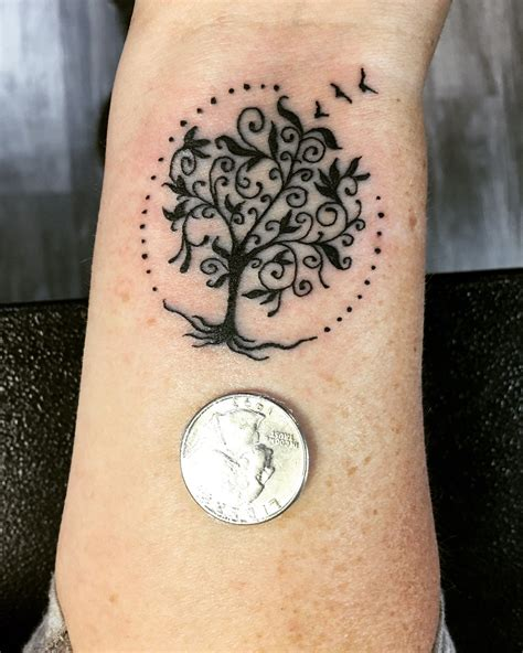 small tree of life tattoo tree of tattoos tattoos