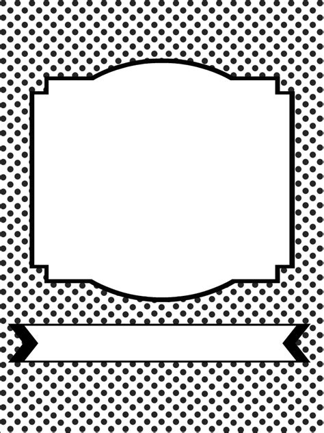 printable round labels template printable pages