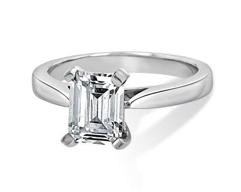 1 30 carat emerald cut solitaire engagement ring dublin