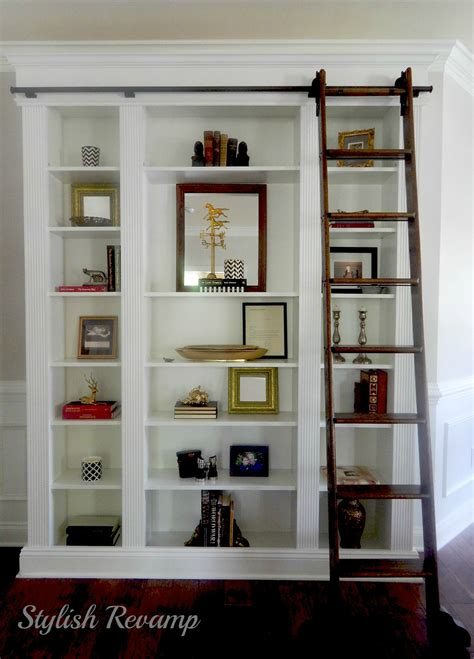 ikea billy bookcase hack stylish rev
