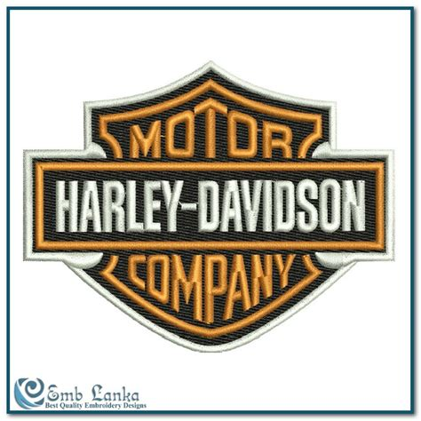 Harley Davidson Designs by Harley Davidson Machine Embroidery Designs Studio