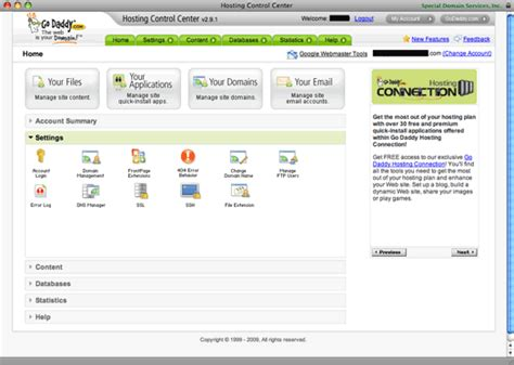godaddy review web hosting craze