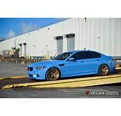BMW F10 M5 On Velos S3 Wheels  VELOS Designwerks