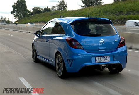 opel australia 2013 opel corsa opc review video performancedrive