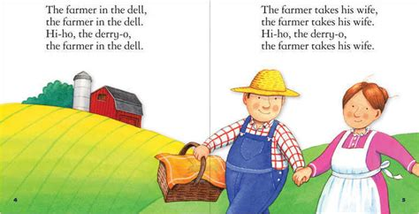 Nursery Rhymes About Cats by The Farmer In The Dell The Child S World