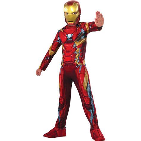 marvel avengers iron man classic boys costume assorted