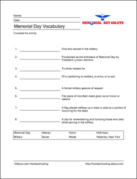 memorial day printable activity sheets memorial day printable activities let s celebrate