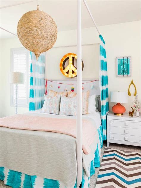 peace wallpaper for bedroom orange and turquoise teen girl bedroom with peace sign