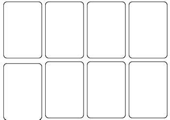 blank card template by persha teachers pay teachers