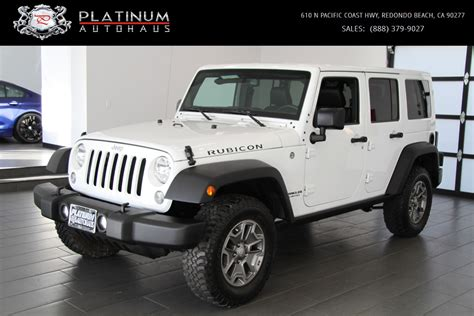 used jeep wrangler rubicon 2016 jeep wrangler unlimited rubicon stock 124304 for