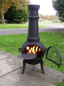 Large Garden Chiminea Get Those Wee Done Around The Veg Patch