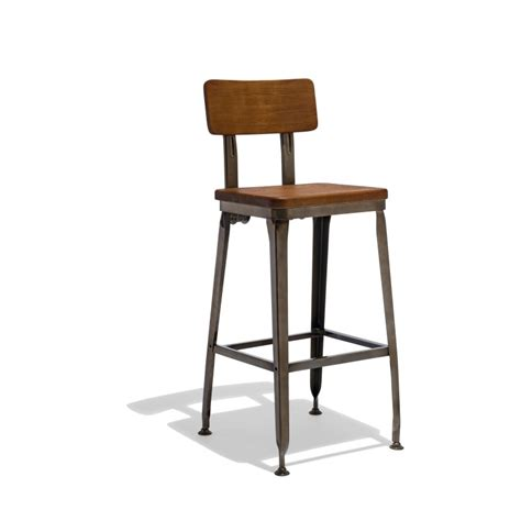industrial style bar stools with back industrial bar stools modern and midcentury counter stools