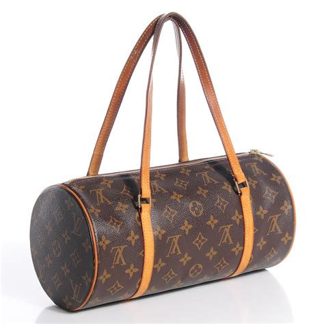 Johanssons Contract Renewed At Louis Vuitton by Louis Vuitton Monogram Papillon 30 Brown Monogram Canvas